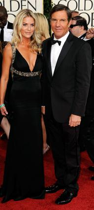 Ο Ντένις Κουέιντ και η σύζυγός του, Κίμπερλι.