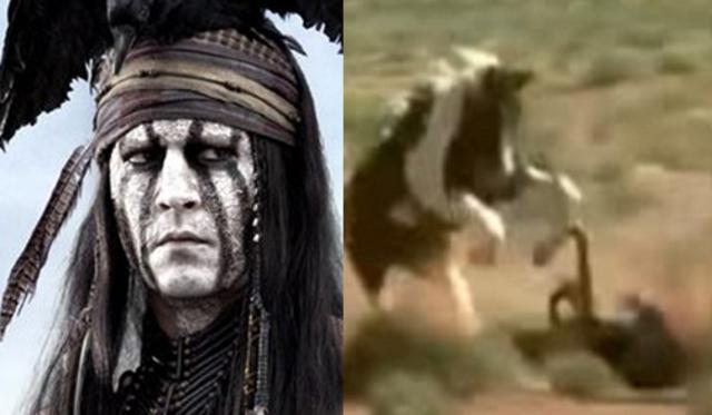 Η στιγμή που άλογο κόντεψε να σκοτώσει τον Ντεπ