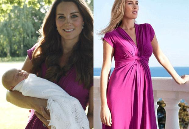 To φόρεμα εγκυμοσύνης ξεπούλησε σε χρόνο ντε τε
