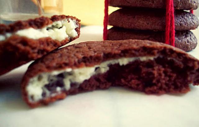 Μπισκότα τσιζκέικ (cheesecake cookies)