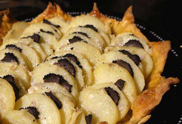 Πατάτες με τρούφα αλά Pandespani