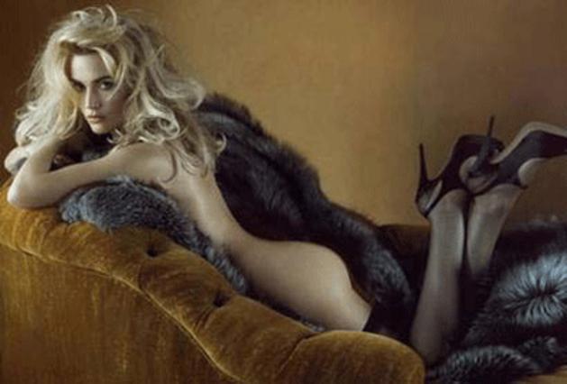 Η πρόσφατη σέξι φωτογράφιση της Γουίνσλετ στο περιοδικό  Vanity Fair .