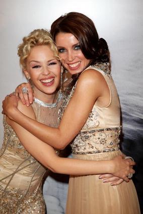 Η Κάιλι και η Ντάνι σε τρυφερό στιγμιότυπο το 2007.