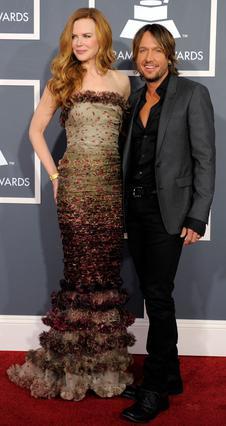 Η Νικόλ Κίντμαν με τον σύζυγό της, Κιθ Έρμπαν.