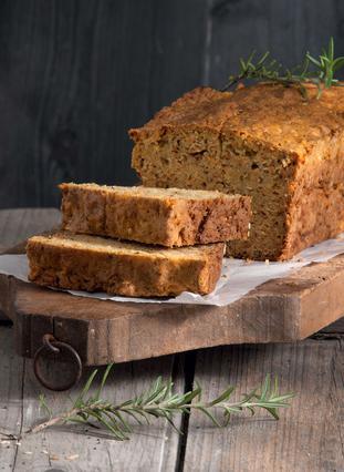 Ψωμί με καρότο και ξύσμα λεμονιού