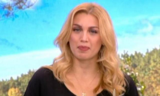 Σπυροπούλου: Μαυροφορεμένη & με πρησμένα μάτια στην εκπομπή