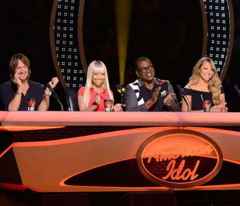 Σοκ έπαθαν με την αντίδραση της Μαράια και οι υπόλοιποι κριτές του American Idol, Κιθ Ούρμπαν, Νίκι Μινάζ και Ράντι Τζάκσον.