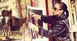 Η Lady Gaga κάνει αφισοκόλληση στα Εξάρχεια