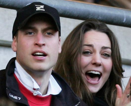 Το πριγκιπικό ζευγάρι σε αγώνα το 2007, τη χρονιά που χώρισε για λίγους μήνες.