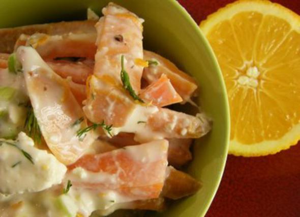 Πατατοσαλάτα με καρότα