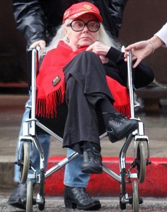 Η 93χρονη Ζα Ζα Γκαμπόρ σε   μια σχετικά πρόσφατη φωτογραφία.
