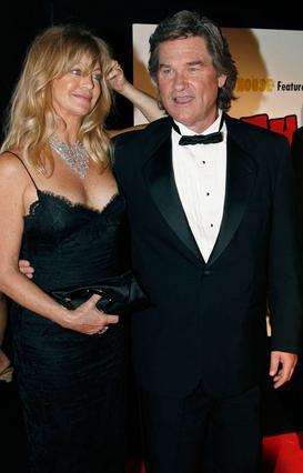 Η Γκόλντι Χον με τον επί  27 χρόνια σύντροφό της,  Κερτ Ράσελ.