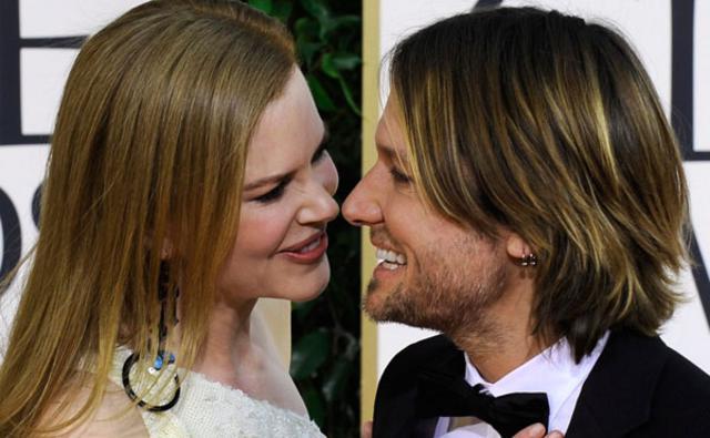 Μετά τον Κρουζ, η Κίντμαν  νόμιζε ότι δεν θα αγαπήσει  ξανά. Μέχρι που γνώρισε τον νυν  σύζυγό της, τραγουδιστή της  κάντρι, Κιθ Ούρμπαν.