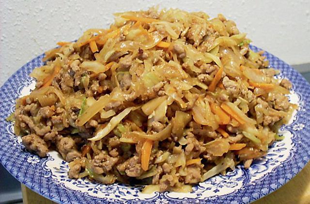 Λάχανο με κιμά στο φούρνο