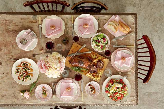 Σαλάτα με αβοκάντο, πατάτες και αβγά
