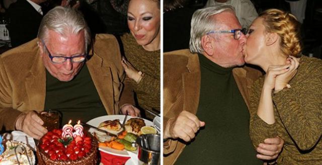 Βουτσάς: Έκλεισε τα 83 με «καυτά» φιλιά!