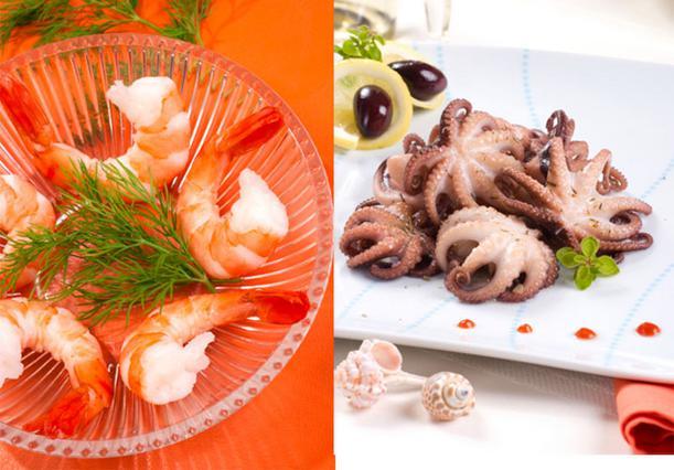 Τι να διαλέξω: Γαρίδες ή χταπόδι;