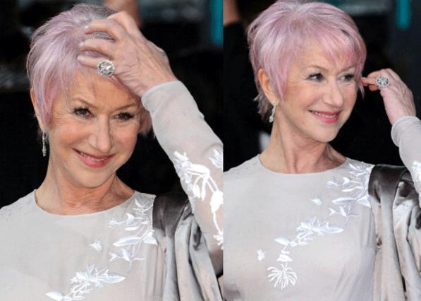 Το ροζ μαλλί σου πάει πολύ!