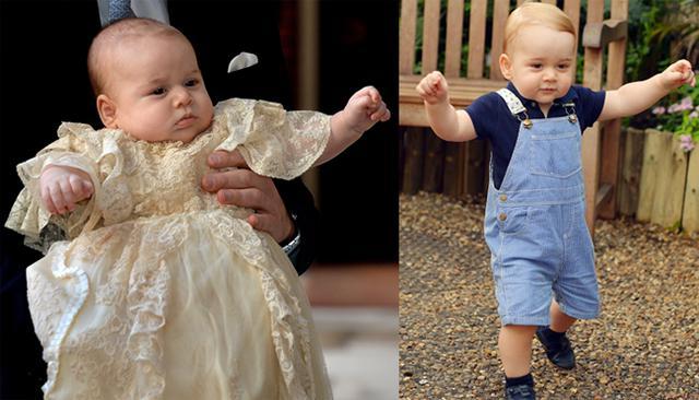 Ο πρίγκιπας Γεώργιος περπατά μόνος!