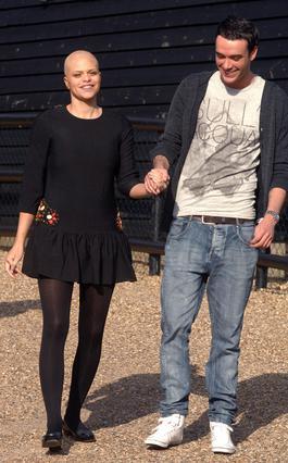 Ο Τζακ με την Τζέιντ Γκούντι κατά τη διάρκεια της αρρώστιας  της. Όταν έχασε τη μάχη με τον  καρκίνο, τον περασμένο Μάρτιο,  ήταν 27 χρονών.
