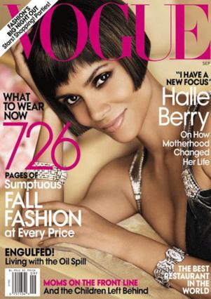 Στην αμρικάνικη έκδοση του περιοδικού  Vogue , επέλεξε να μιλήσει η Μπέρι!