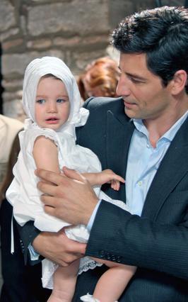 Η βάφτιση της Αναστασίας Ρουβά!