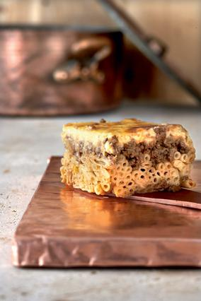 Παστίτσιο παραδοσιακό με κρέας μοσχαρίσιο