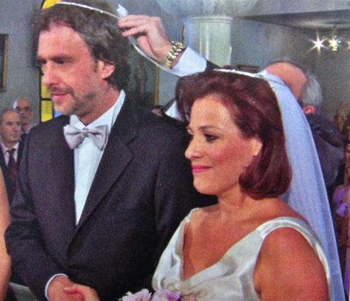 Τουμασάτου - Σταύρου: Φωτογραφίες από τον κρυφό γάμο