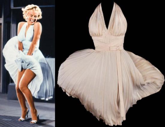 Σχεδόν 5 εκατομμύρια δολάρια πουλήθηκε το φόρεμα που φορούσε η Μέριλιν στην ταινία  7 χρόνια φαγούρα
