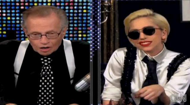 Η Lady Gaga μίλησε για όλα στην εκπομπή του Larry King!
