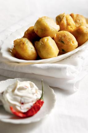 Λουκουμάδες πατάτας