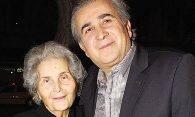 Απαρηγόρητος ο Λάκης -  έφυγε  από τη ζωή η μητέρα του