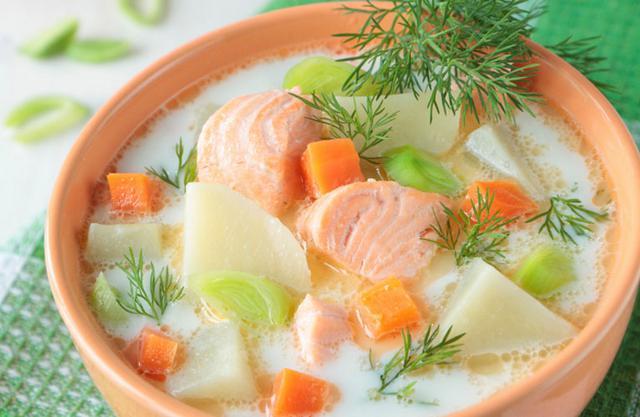 Ψαρόσουπα με λαχανικά