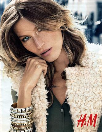 Η Gisele το πρόσωπο & η φωνή της φθινοπωρινής συλλογής H&M