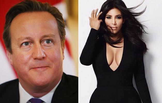 "<p>Ο πρωθυπουργός της Βρετανίας και η Κιμ Καρντάσιαν (Kim Kardashian) -με όλο της το σόι- είναι συγγενείς. <strong>Μακρινοί, αλλά συγγενείς. </strong></p>  <p>Μιλώντας στο περιοδικό ""<strong>Heat"