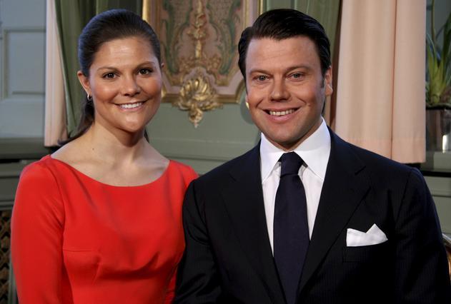 Το ζευγάρι στην επίσημη φωτογραφία της ανακοίνωσης του αρραβώνα.