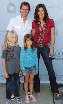 Η οικογένεια Γκέρμπερ-Κρόφορντ το 2008.