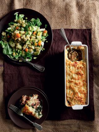 Σαλάτα με βραστά λαχανικά