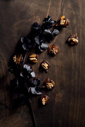 Γαλλικά σοκολατάκια με ξηρούς καρπούς