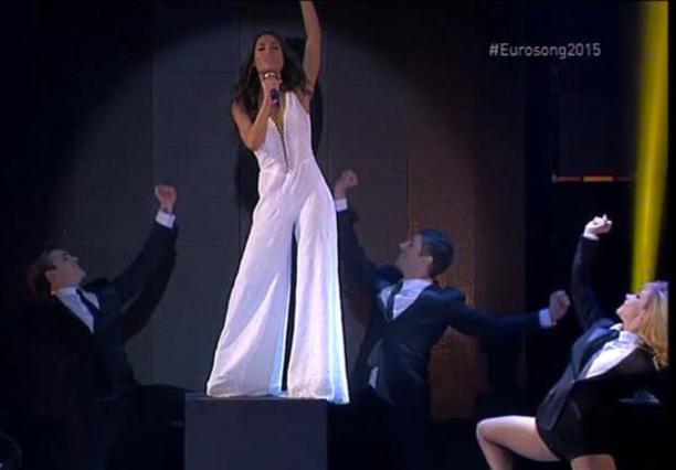 «Κατέρρευσε» η Απέργη στον τελικό της Γιουροβίζιον!