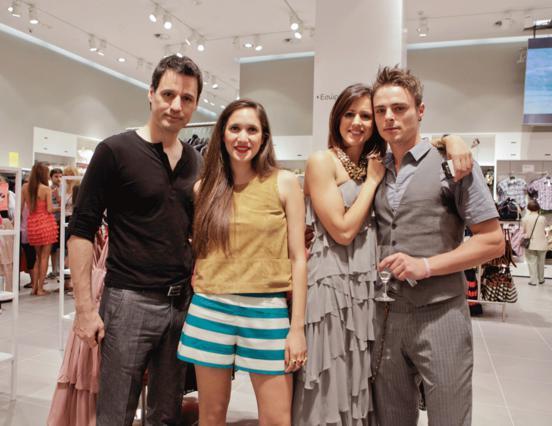 Ο Γρηγόρης Πετράκος, η Λυδία Παπαϊωάννου και ο Νίκος Μίχας ήταν μερικοί μόνο από τους  επώνυμους σταρ που βρέθηκαν στο fashion event