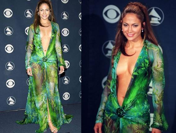 H Tζένιφερ και το φόρεμα- φωτιά του 2000!