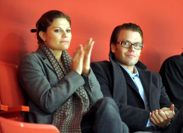 Η Βικτόρια κι ο Ντάνιελ σε εκδήλωση του 2008.