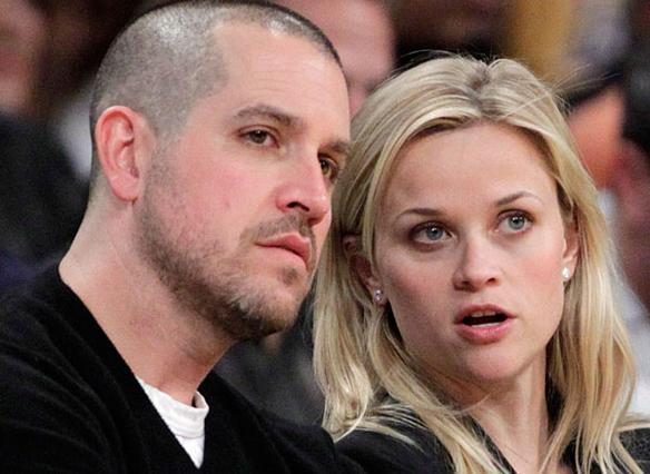 Η Ρις με τον σύζυγό της, ατζέντη Τζιμ Τοθ.