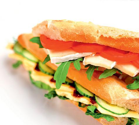 Σάντουιτς με ομελέτα
