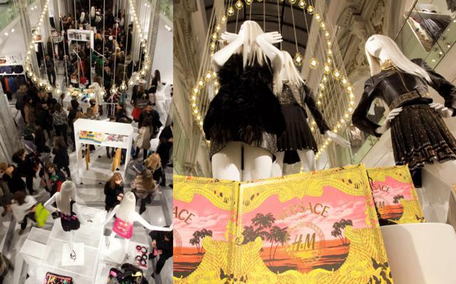 Το λανσάρισμα της σειράς  Versace for H&M  στέφτηκε με απόλυτη επιτυχία!