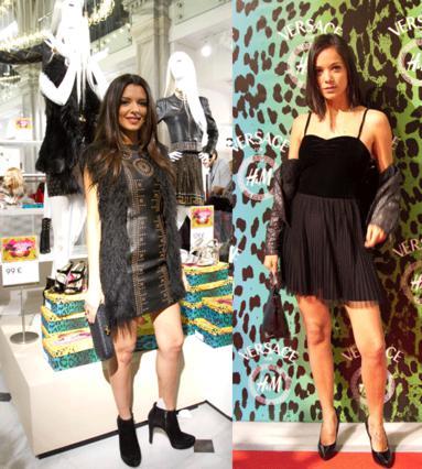 Η Νικολέτα Ράλλη και η  Κατερίνα Τσαβαλου.