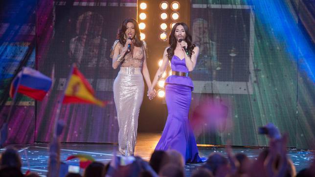 <p>Δύο από τις πιο αμφιλεγόμενες προσωπικότητες που εμφανίστηκαν -και νίκησαν, να τα λέμε κι αυτά- στη σκηνή της Eurovision, η <strong>Ντάνα Ιντερνάσιοναλ </strong>(Dana International) και η<strong> Κ