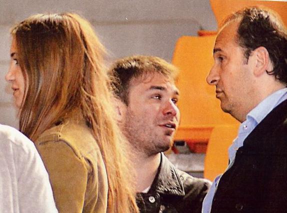Όταν ο Σαμπάνης γνώρισε τον  πεθερό  Μπάνε Πρέλεβιτς