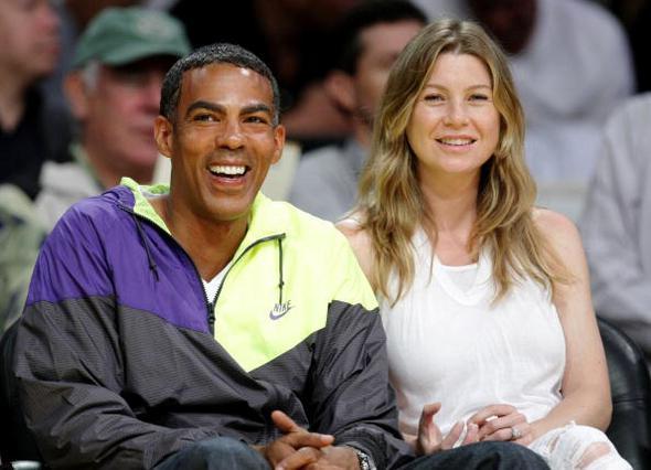 Η Έλεν Πομπέο με τον σύζυγο της τον περασμένο Μάιο.